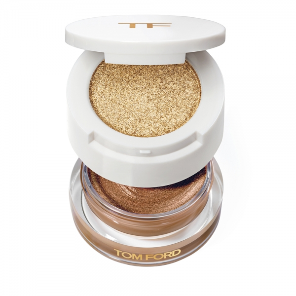 Double Decker Eyeshadow - Golden Peach