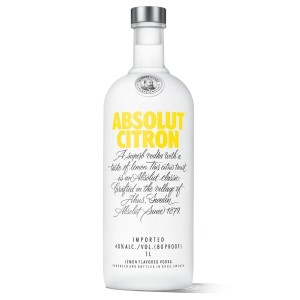 Absolut Citron liter