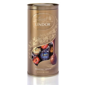 Lindt Assorted Tube 400g