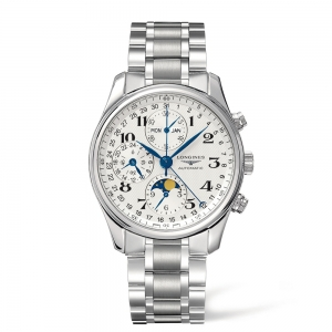 The Longines Master Collection 40mm Chronograph, Steel Bracelet